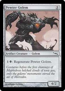 Pewter Golem MRD