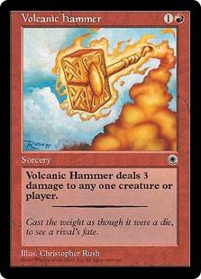 Volcanic hammer PO