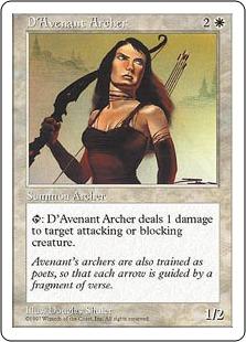 D'Avenant Archer 5