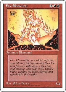 Fire Elemental 4E