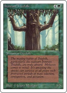 Ironroot Treefolk 2U