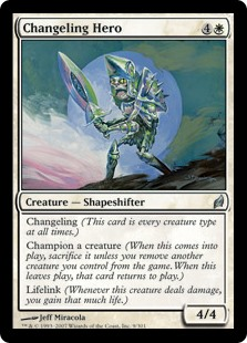Changeling Hero LRW