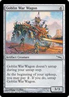 Goblin War Wagon MRD