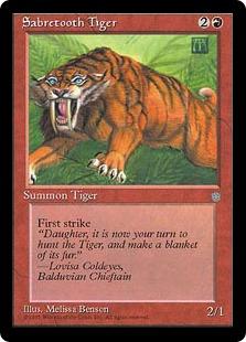 Sabretooth Tiger IA