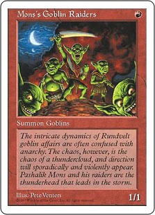 Mons's Goblin Raiders 5E
