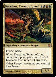 Karrthus, Tyrant of Jund ARB