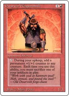 Dwarven Weaponsmith 3E