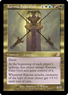 Karona, False God SCG