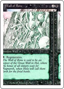 Wall of Bone 3E