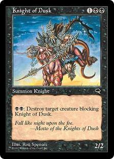 Knight of Dusk TE