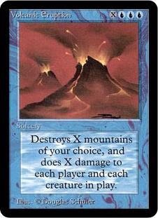 Volcanic Eruption 1E