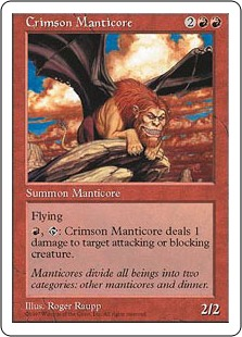 Crimson Manticore 5