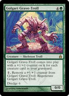 Golgari Grave-Troll RAV