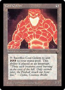 Coal Golem DK