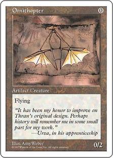 Ornithopter 5ED