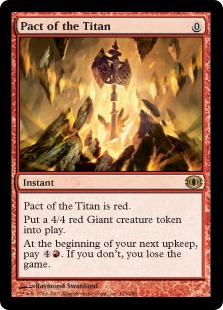 Pact of the Titan FUT