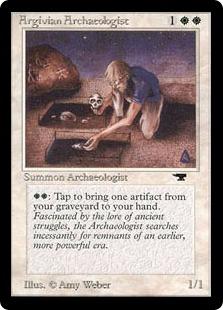 Argivian Archaeologist ATQ