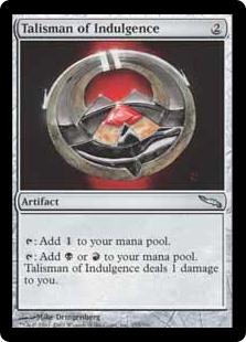 Talisman of Indulgence MRD