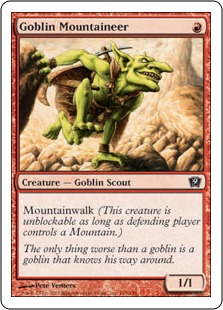 Goblin Mountaineer 9ED