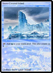 Snow-Covered Island (TL)