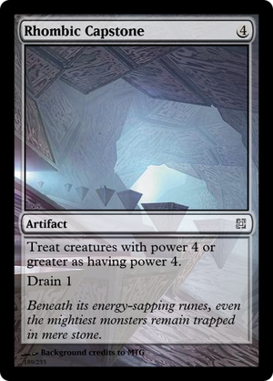 Rhombic Capstone