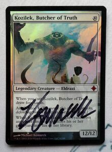 2016060115 1xFoil Signed Kozilek, Butcher of Truth