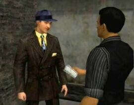 Luigi Fusco gettin' paid