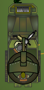 Half anti tank