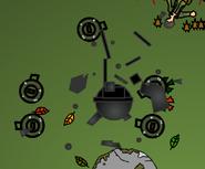 AAA wreckage
