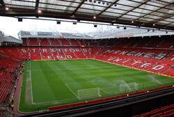 View of Old Trafford from East Stand