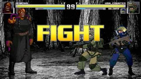 Mugen Battle Mania 10 - Nemsis Vs Usn Counter and Gign Counter