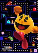PacMan SSB4 Poster