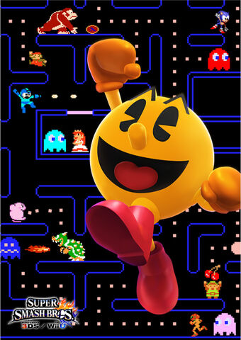 File:PacMan SSB4 Poster.jpg