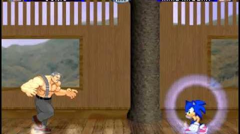 Nintendo Vs Capcom Arcade Runs Sonic-1