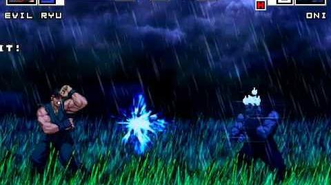 MUGEN Absolute Power 2 - Evil Ryu vs Oni