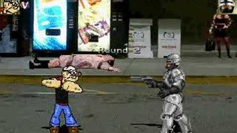 Popeye vs Robocop