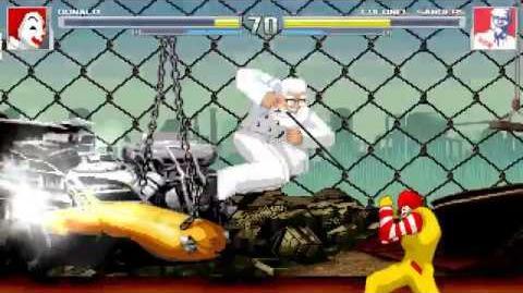 M.U.G.E.N Ronald McDonald vs