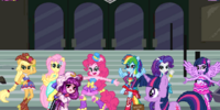 Canterlot High Destroyed