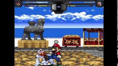 CPU Mugen tournament match 3 Mario vs