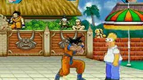 Mugen Homer Simpson 23 Son Goku