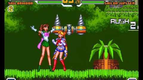 Mugen - Super Sailor Moon vs Sailor Jupiter