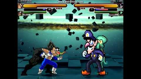 M.U.G.E.N Vegeta and Venom vs