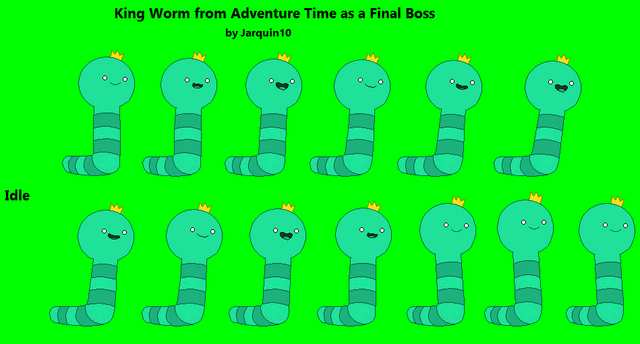 File:King Worm Idle Sprites.PNG
