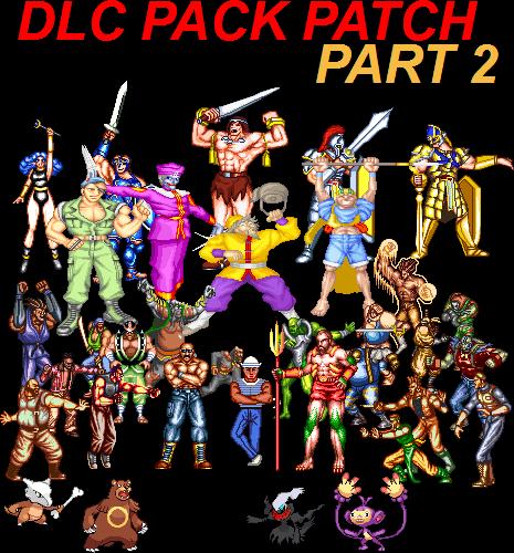 DLC Pack Patch Part 2