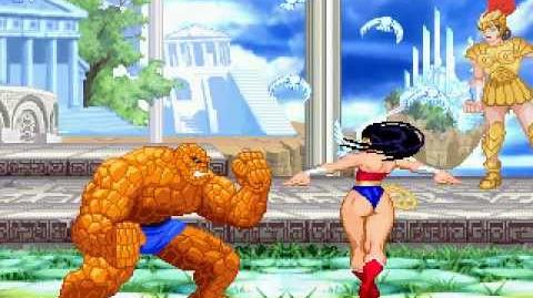 DC vs Marvel - The Thing vs Wonder Woman