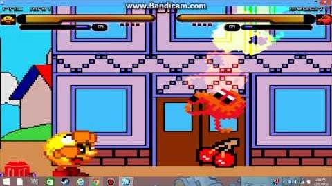 MUGEN Battle of the 80's! Pacman vs Qbert!
