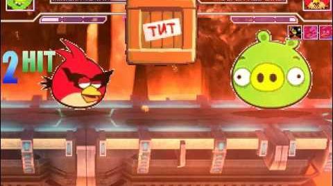 MUGEN Minion Pig vs Team Angry Birds
