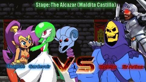 Nsh's M.U.G.E.N Stage The Alcazar (Maldita Castilla)