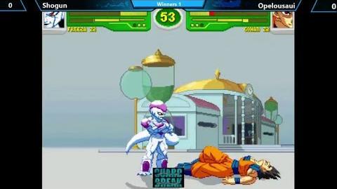 Gameplay Hyper Dragon Ball Z EVO 2014 Shogun (Freeza Z2) vs Opelousaui (Gohan Z2)