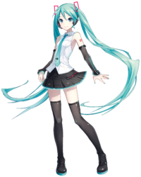 Miku v4 bundle art